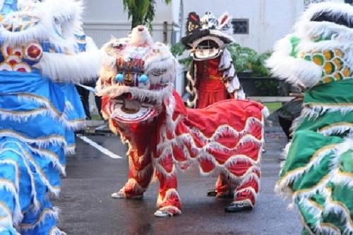 Mahasiswa D3 Mandarin Gelar Perayaan Imlek