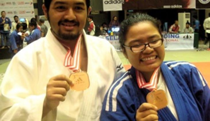 Judo UGM Sabet Dua Medali Kompetisi Judo Internasional