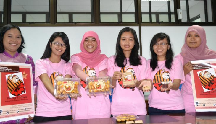 Cookies 'Bang Sulam' dari Kembang Sepatu