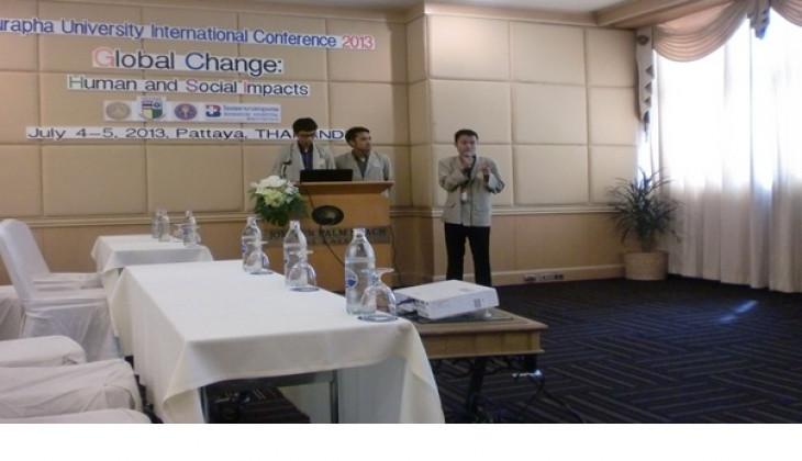 Mahasiswa UGM Paparkan Potensi Lumut Hati di Konferensi Internasional