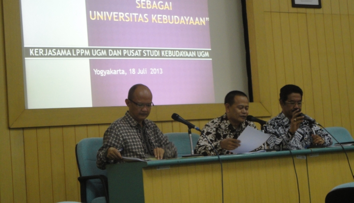Meletakan UGM Sebagai Universitas Kebudayaan