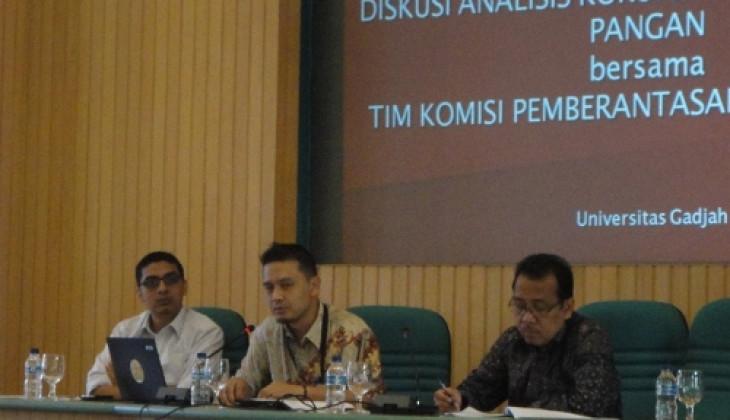 Diskusi KPK-UGM: Korupsi Pangan Sejak Level Kebijakan