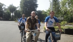 Masa Orientasi, 178 Mahasiswa Asing Bersepeda Keliling Kampus