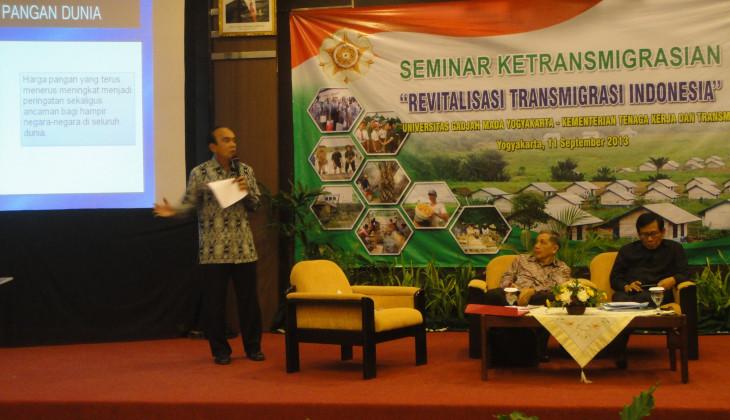 Hadapi Krisis Pangan, Transmigrasi Tetap Berorientasi Pertanian