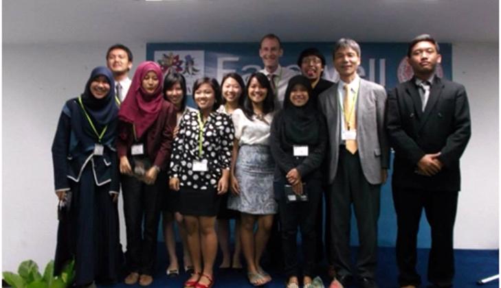 Mahasiswa UGM Mengikuti Pertemuan Ilmuwan Muda Asia