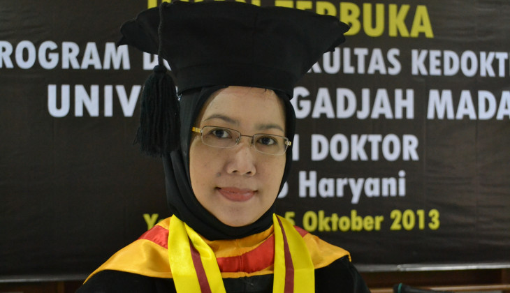 Kembangkan Model Gigi Tiruan Dosen Poltekes Yogyakarta Raih Doktor