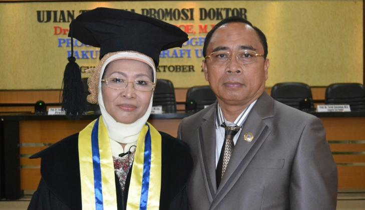 Raih Doktor Usai meneliti DBD di Kota Gorontalo