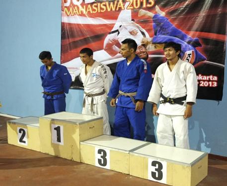 UGM Sabet Tiga Medali Kejuaraan Nasional Judo