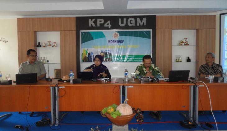 KP4 UGM Adakan Workshop Gama Pertanian Tropika Terpadu