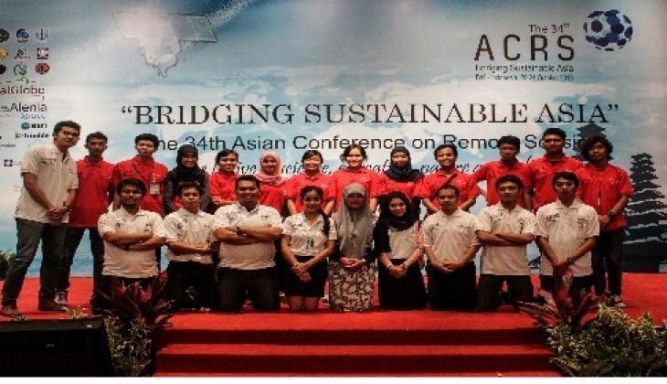 22 Mahasiswa Geografi Ikuti Konferensi Internasional Penginderaan Jauh