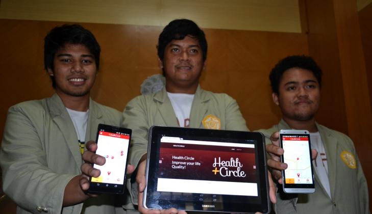 Mahasiswa Kembangkan Aplikasi Petunjuk Lokasi Penyakit Menular