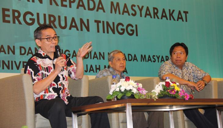 Rektor UGM Usul Kemenristek dan Dikti Digabung