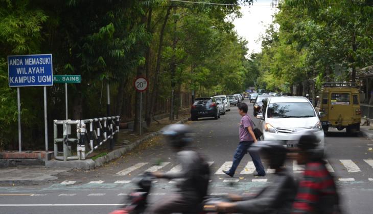 UGM Lakukan Penataan Lalu Lintas Kawasan Jalan Kaliurang