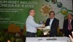 IIRF 2013, Dekatkan Hasil Riset Bidang Pangan Pada Industri