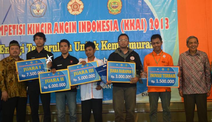 USD Juara Kompetisi Kincir Angin