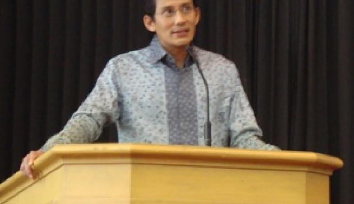 Sandiaga S. Uno: Ingin Sukses, Pantang Menyerah