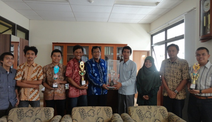 Tim FAPET UGM Borong Prestasi Nasional TIMPI 2013