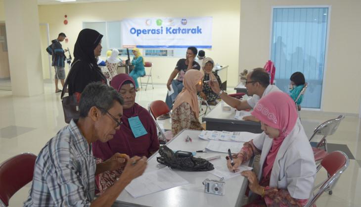 60 Orang Operasi Gratis Katarak