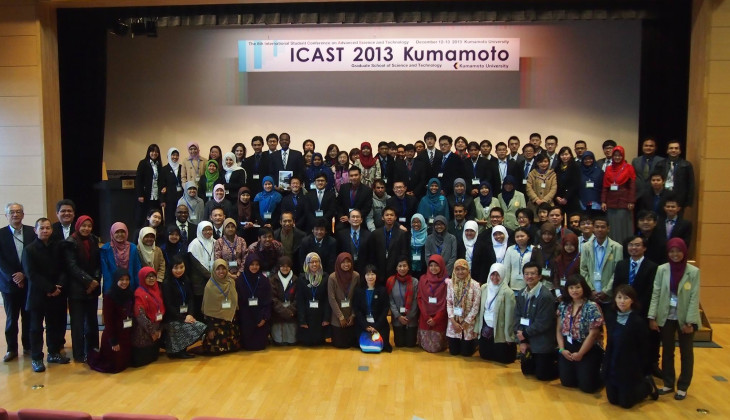 Mahasiswa UGM ikuti The 8th ICAST di Kumamoto, Jepang