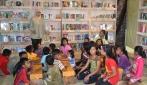 Mahasiswa Asrama UGM Dirikan 'Omah Baca Karung Goni'