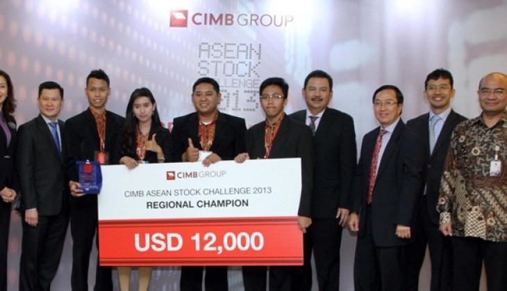 Tim Mojopahit UGM Jawara Kompetisi Simulasi Perdagangan Saham ASEAN
