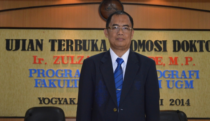Kaji Keruangan Pengembangan Agropolitan Jagung, Zulzain Raih Doktor