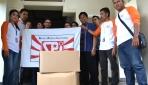 Serikat Pekerja SC Enterprises Salurkan Bantuan Bencana Sinabung