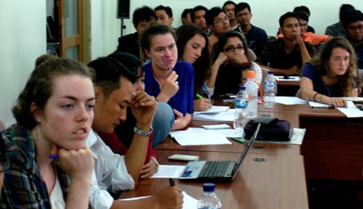 Mahasiswa Indonesia dan Amerika Diskusi Agama dan Pancasila