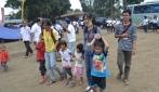 Pengungsi dari 12 Desa di Sinabung Belum Dipulangkan, Mahasiswa UGM Jadi Konselor