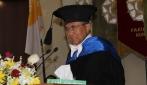 Djoko Kirmanto Terima Gelar Doctor Honoris Causa dari UGM