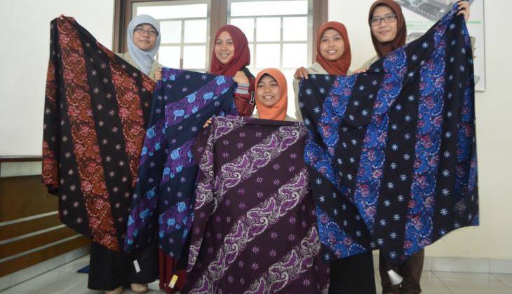 Batik Jaringan Tubuh Kreasi Mahasiswa FK