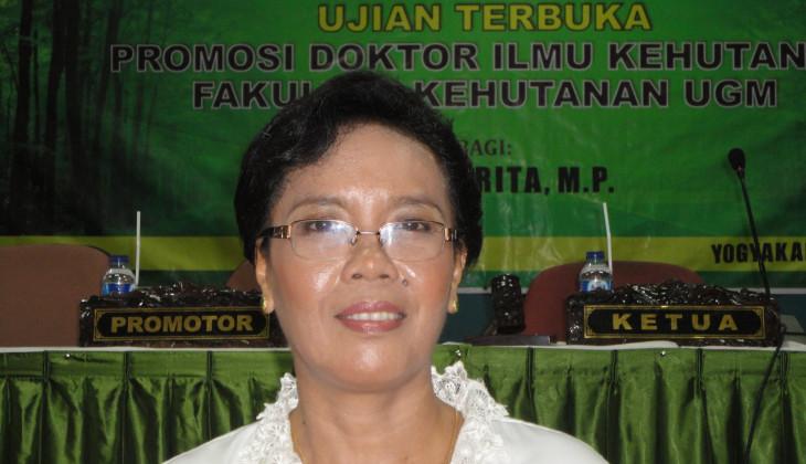 Teliti Rehabilitasi Lahan Gambut, Yunarita Raih Doktor