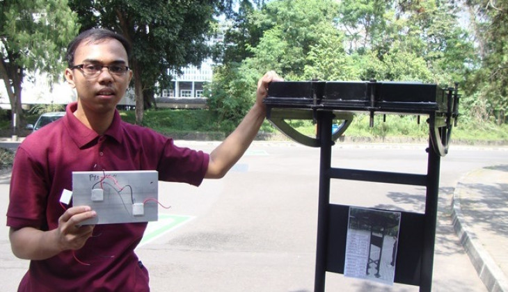 Mahasiswa UGM Kembangkan Termoelektrik Untuk Efisienkan PV