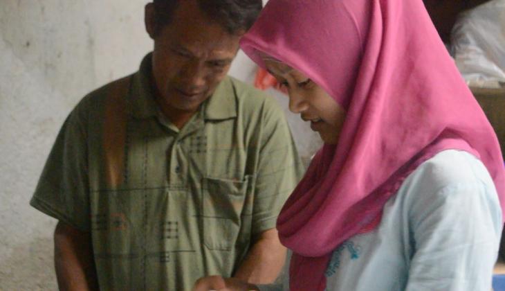 Anak Penjual Geblek Kuliah Gratis di UGM
