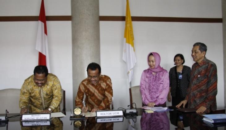 UGM - Pemkab Sorong Selatan Jalin Kerja Sama Pendidikan