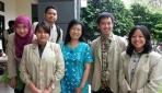 Mahasiswa Pengembang Spidweb Gel Bersama Dosen Pembimbing