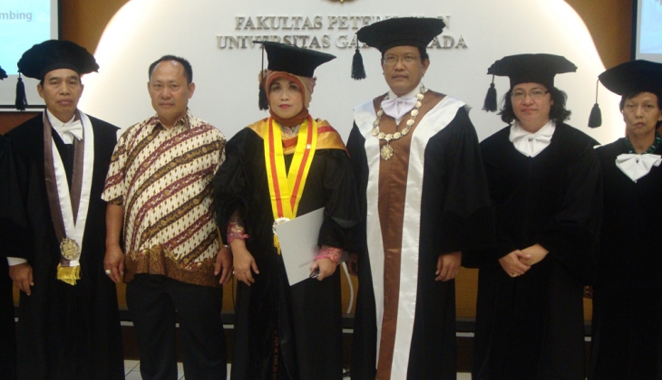 Teliti Karakteristik Genetik Kambing di Lampung, Dosen UNILA Raih Doktor