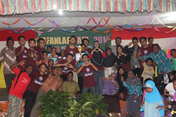 KKN PPM UGM Kembangkan Potensi  Kampung Fafanlap, Papua Barat
