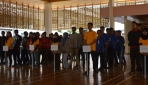 15 tim ikuti upacara pembukaan Kompetisi Bola Vol Voli Gadjah Mada 2014, Senin (13/10) di Hall Gelanggang Mahasiswa UGM