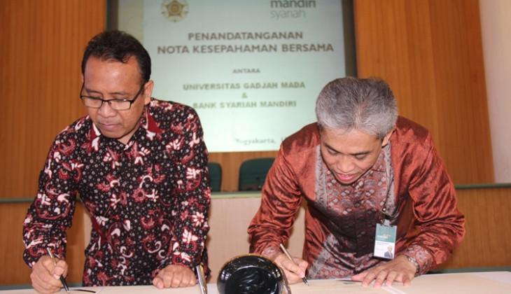 UGM-Bank Syariah Mandiri Jalin Kerja Sama