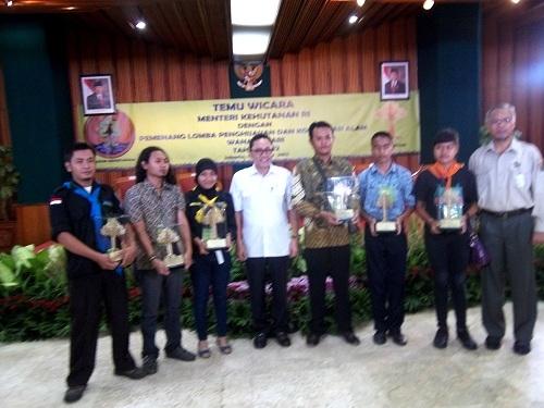 Mapala Silvagama Juara I Lomba Konservasi Alam