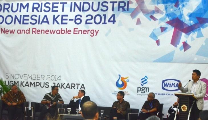 UGM Komitmen Kembangkan Energi Gas
