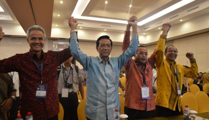 Ganjar Pranowo Pimpin KAGAMA Periode 2014-2019