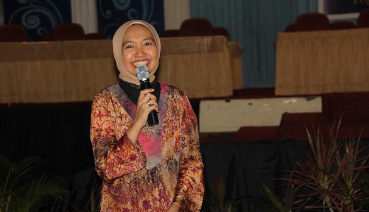 Anie Suyanti Beri Wejangan Soal Dunia Kerja
