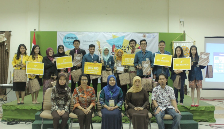 UGM Gelar Kompetisi Riset Mahasiswa Kedokteran Gigi Se-Asia Tenggara