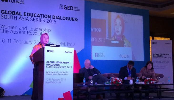 Rektor UGM Jadi Pembicara Kunci Global Education Dialogue di New Delhi