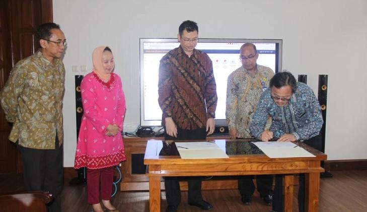 Kerjasama Pemanfaatan Apilkasi W-DIPS Untuk Bencana di DIY