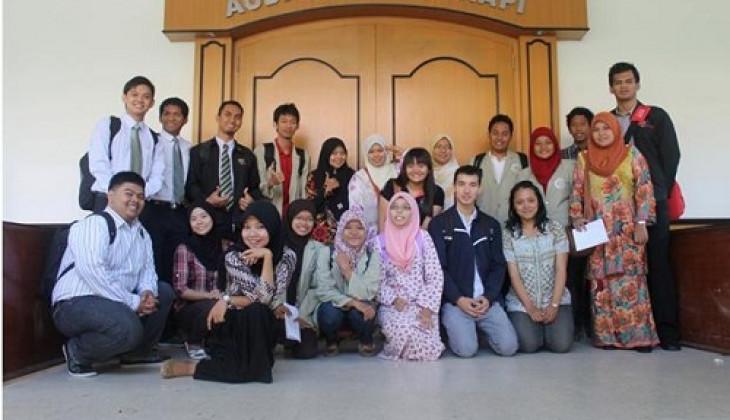 12 Mahasiswa Asing Ikuti Summer Course di Fakultas Geografi