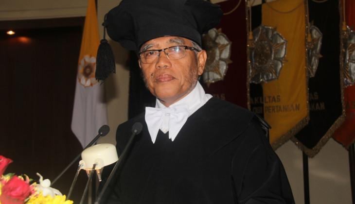 Prof Samsul Kamal Dikukuhkan Jadi Guru Besar