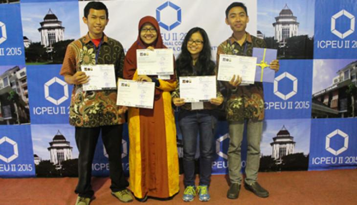 Mahasiswa Fakultas Geografi UGM Juarai ICPEU II